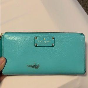 Tiffany blue kate spade wallet